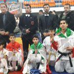 کسب یک مدال طلا دو مدال نقره و یک برنزتوسط  تیم اعزامی اصفهان
