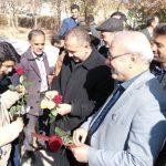 مدرسه برکت در روستای محسن آباد افتتاح و در شهر حبیب آباد کلنگ زنی شد.