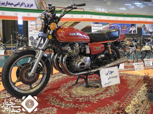 آغاز به کار نخستین نمایشگاه موتور سیکلت در برخوار+فیلم