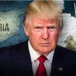 حمله مشترک آمریکا، انگلیس و فرانسه به سوریه در همراهی با تروریستها