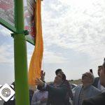 رونمایی از تمثال شهدای والا مقام شهر سین توسط معاون وزیر راه و شهرسازی