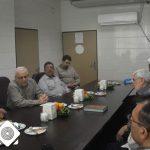 فرماندار از پروژه بیمارستان ۶۴ تخت خوابی امام رضا (ع) بازدید کرد.