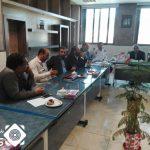 جلسه شورای فرعی ترافیک بخش حبیب اباد تشکیل شد