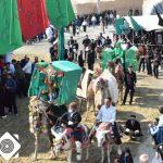 کاروان ندای محرم برپایی مجالس عزاداری شهر سین را اعلام کرد