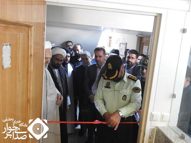 دفتر پلیس راهنمایی و رانندگی در بخش حبیب آباد برخوار افتتاح شد