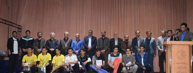 مسابقه دو صحرانوردی آموزشگاهای شهرستان برخوار در سه مقطع تحصیلی برگزار شد