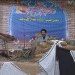 بیست و هفتمین یادواره ۳۵ شهید محله کربکند شهر دولت آباد برگزار شد .