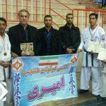 درخشش تیم آکادمی کیوکوشین امیری درمسابقات کشوری کیوکوشین کاراته ماتسوشیما