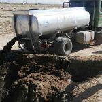 تانکر تخلیه فاضلاب صنعتی در شهرستان برخوار توقیف شد