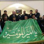 گرامیداشت دهه ی فجر و گرامیداشت خادم الحسین سرهنگ رفیعی و میثاق با شهدای ناجا