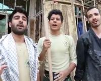 دابسمش شاد جهادگران در مناطق سیل زده +فیلم