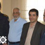 دیدار شهردار واعضای شورای اسلامی شهر سین  با سرهنگ عرب پور