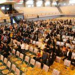 برگزاری جشن در ورزشگاه رسالت