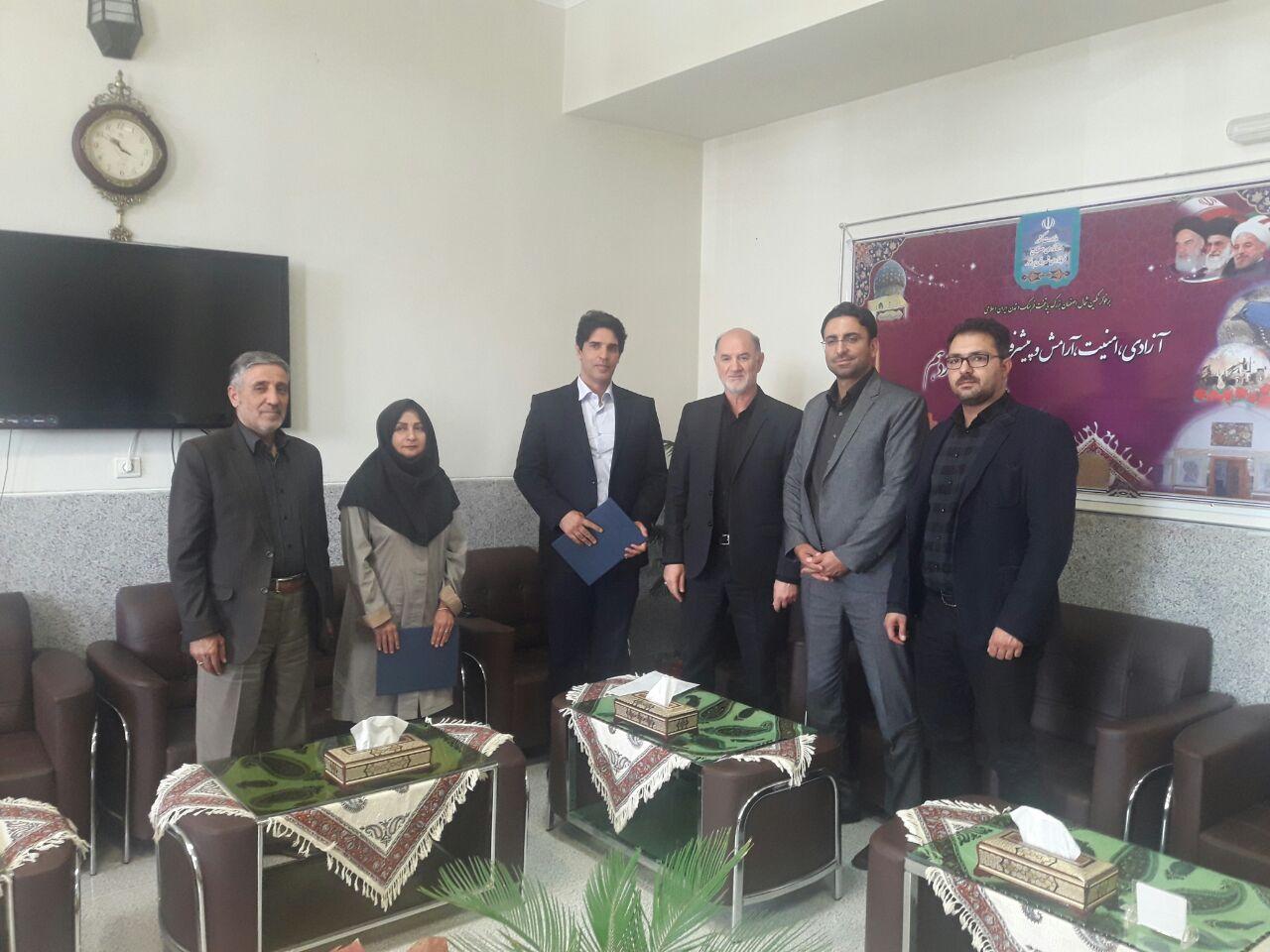 رئیسی از جنس ورزش /حمید صالحی سرپرست اداره ورزش و جوانان برخوار شد
