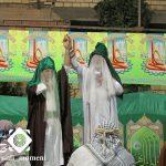 گزارش تصویری ؛ مراسم کاروان غدیر و خطبه خوانی پیامبر (ص) در حبیب آباد