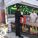 توزیع کپسول اطفای حریق در همه چایخانه های شهرسین