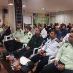 همایش پلیس اطلاعات امنیت در سالن اتاق اصناف برخوار برگزار شد