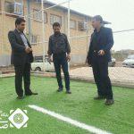اجرای پروژه زمین چمن مصنوعی شهر سین به پایان رسید.
