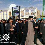 مردم شهید پرور شهر حبیب آباد ترور سردار سلیمانی را محکوم کردند