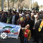 خروش مردم حبیب آباد در راهپیمایی ۲۲ بهمن