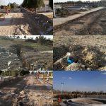 اصلاح زیرساخت ها برای بهره برداری از فضای سبز پارک معلم دولت آباد