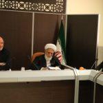 جلسه هیات اجرایی شهرستان برخواربا حضور حجت الاسلام شیخ احمد ناصری