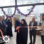 افتتاح نمایشگاه کتاب در کتابخانه دین و دانش حبیب آباد