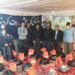 توزیع ۱۵۰ بسته غذایی در قالب رزمایش مومنانه در شهر شاپورآباد