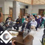 دیدار کارکنان شبکه دامپزشکی شهرستان برخوار با رییس جهاد کشاورزی شهرستان