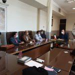 جلسه مجمع مشورتی با فرماندار شهرستان