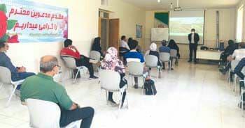 اولین دوره آموزشی کشت کار گلخانه ای در حبیب آباد