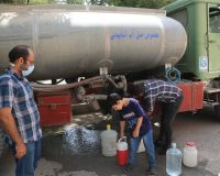 گرمای دوباره هوا موجب افزایش آبرسانی سیار در اصفهان شد