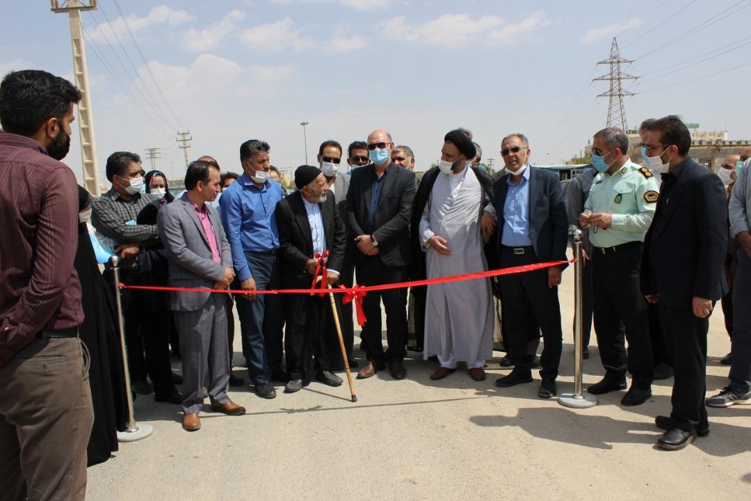 چهار پروژه عمرانی و فرهنگی در دولت آباد به بهره برداری رسید