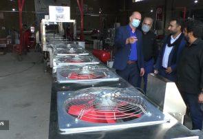 دستگاههای فلافل ساز یک واحد صنعتی در برخوار به ۱۵ کشور از جمله آمریکا صادر میشود