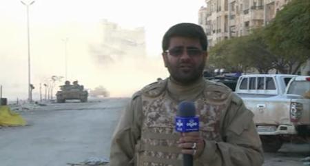 شهادت خبرنگار خبرگزاری صدا و سیما در حلب + فیلم و تصاویر