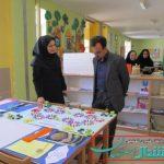 بازدید بخشدار از کودکان کانون پرورش فکری شهر حبیب اباد