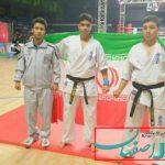 قهرمانان کیوکوشین ماتسوشیما برخوار نگین مسابقات بین المللی باکو شدند