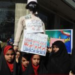 طنین شعار مرگ بر آمریکا در راهپیمایی ۱۳ آبان برخوار