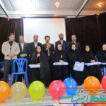 تجلیل از مقام معلم و دانش اموزان و هنر جویان دبیرستان نرجس