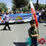 گزارش تصویری/مردم شهرستان برخوار فریاد رهایی قدس شریف را سر دادند