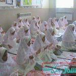 جشن تکلیف دختران در دبستان یزدان پناه محسن آباد برگزار شد