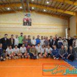 مسابقات والیبال کارکنان و فرهنگیان مدارس برخوار برگزار شد