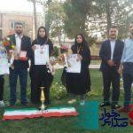 مراسم استقبال ازقهرمانان مسابقات بین المللی در شهر خورزوق برخوار برگزار شد.