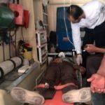 تصادف دو پژو در جاده شاپور آباد برخوار ۶ مصدوم بر جای گذاشت .