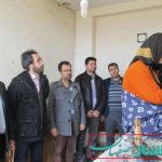 دیدار بخشدار حبیب آباد با خانواده دارای معلول به مناسبت هفته جهانی معلولین
