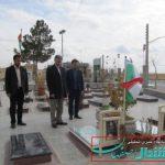 تاجمیری فرماندار برخوار با مسئولین بخش حبیب آباد دیدار کردند