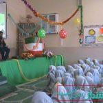 برگزاری جشن میلاد حضرت محمد(ص)در دبستان یزدان پناه محسن آباد