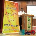 کارگاه آموزشی رانندگان سرویس مدارس در تالار شهرداری دولت آباد برگزار شد.